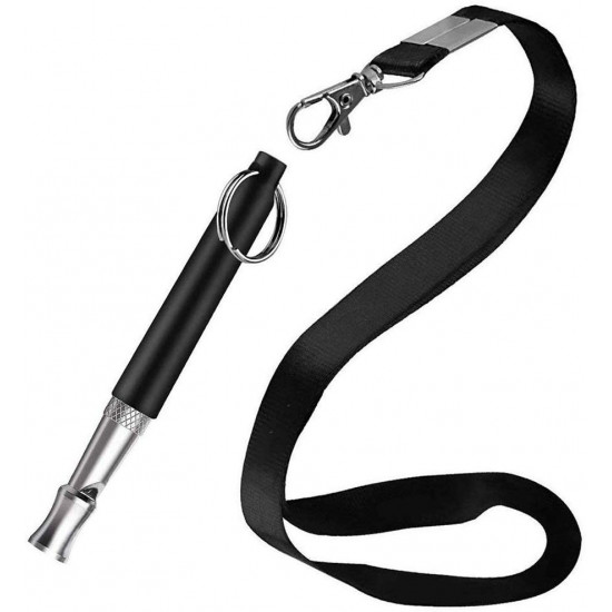 OYEFLY Dog Whistle to Stop Barking, Professional Dog Training Whistle, Ultrasonic Adjustable High Pitch Ultra-Sonic Sound Tool with Free Premium Quality Lanyard Strap
