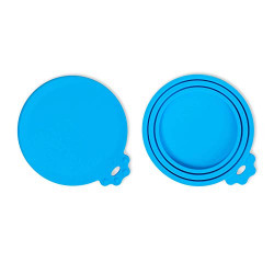 OYEFLY-Can Covers/Universal Silicone Can Lids for Pet Food Cans/Fits Most Standard Size Dog and Cat Can Tops
