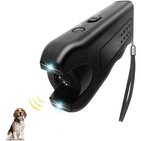 OYEFLY Handheld Dog Repellent & Trainer, Ultrasonic Infrared Dog Deterrent, Ultrasonic Infrared Dog Deterrent for Safety,Outdoor,Walking, Dog Trainer Pet & Human Safe